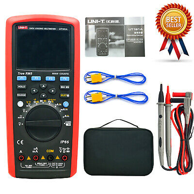 UNI-T UT181A True RMS Datalogging LCD Digital Multimeter Auto Range 60000 Count