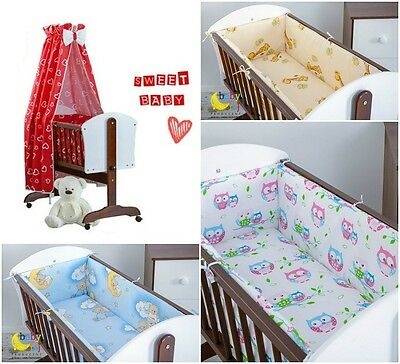 Baby Bedding Set 8 Pieces For Cradle, Different Colors And Fantasies