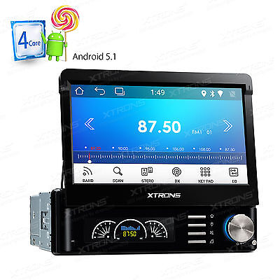 "Android 5.1 Os Autoradio Gps Navi 7""touchscreen Display Bluetooth Wifi 1Din Usb"