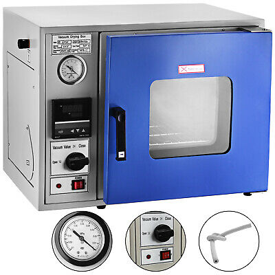Vacuum Drying Oven Laboratory Cabinet stoving 250°C 450W 20L 133 Pa
