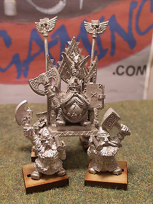 Classic Dwarf High King Thorgrim. Complete. Metal. Very Rare (G436)