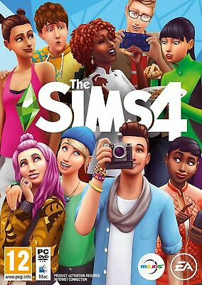 The Sims 4 (PC/MAC) Brand New & Sealed UK PAL Free UK Shipping Quick Dispatch