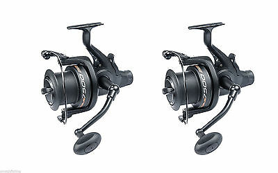 2 x Rogue 7500fs Free-Runner Big-Pit Reels + Free spool of line