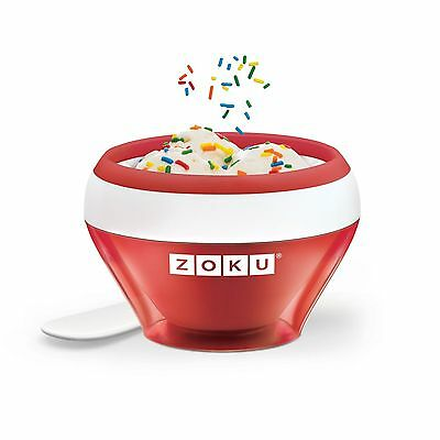 Zoku Ice Cream Maker, Red, ZK120-RD