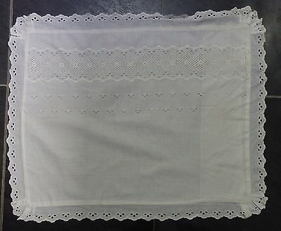 "Small pillow / cot pillow case 17"" x 14"" 43 x 36 cm (VC117)"