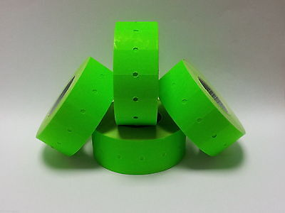 12,500 Green CT1 Price Gun Labels For Motex MX-5500