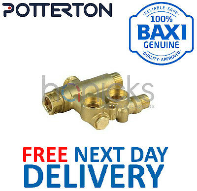Potterton Titanium 24 28 33 40 3 Way Assembly Without Bypass 7224764 5132456 NEW