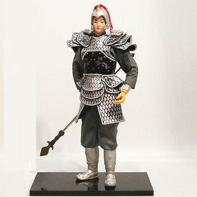 32cm Ancient Chinese Powerful Warrior General Commander Military Officer-12