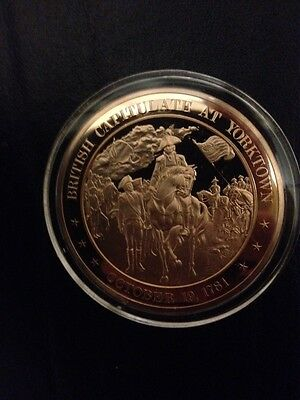 1781 - Franklin Mint History of the United States Bronze Coin