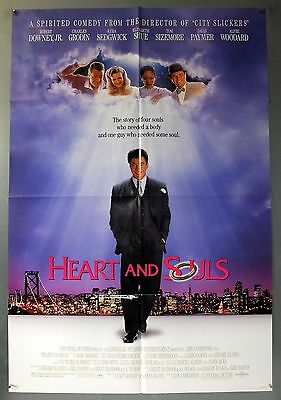 HEART AND SOULS - ROBERT DOWNEY Jr. - ORIGINAL AMERICAN ONE SHEET MOVIE POSTER