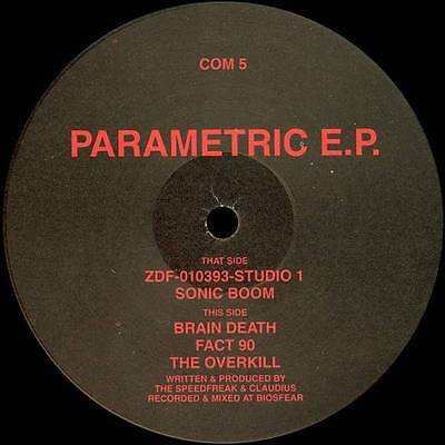 "12"": Shadowrun - Parametric E.P. - Communism Records - COM 5"
