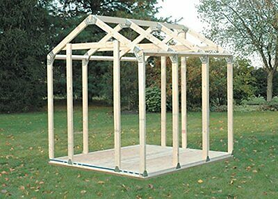 Build Your Own 2x4 Basics Any Size Peak Roof Shed Kit 2x4  - 90192MIE