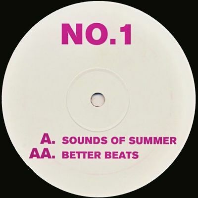 "12"": DJ Ganja Brain - Sounds Of Summer / Better Beats - Not On Label - H + H 001"