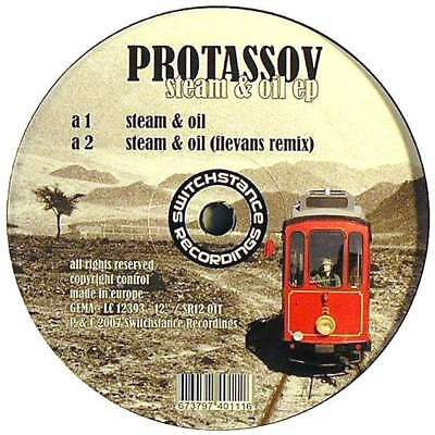 "12"": Protassov - Steam & Oil EP - Switchstance Recordings - SR12 011"