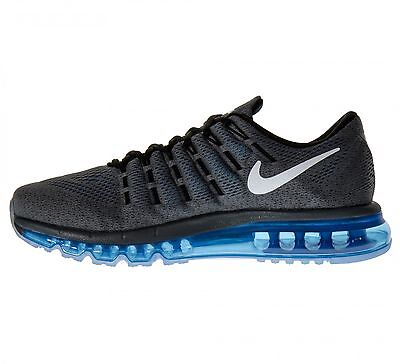 new product ea340 350ae Nike Air Max 2016 Trainers - 806771-002 - Grey  Blue  White -