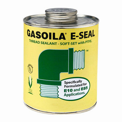 Gasoila GE08 E-Seal Thread Sealant Soft-Set with PTFE (1/2 pt)