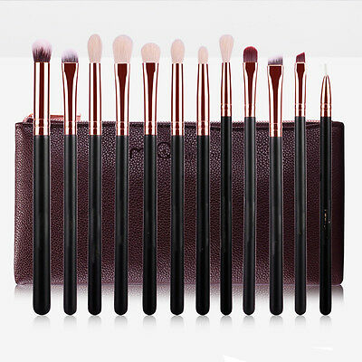 12pcs Pro Kabuki Make up Brush Set Foundation Blusher Concealer Eyeshadow Tools