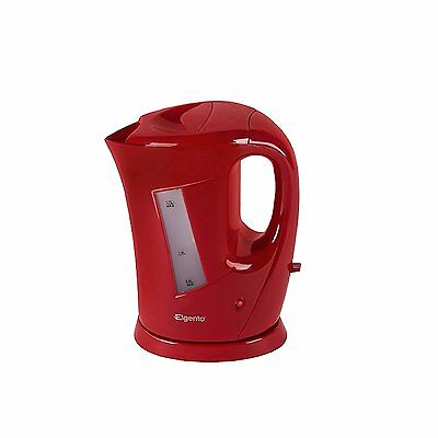 Elgento 1.7Ltr Cordless Jug Kettle 2.2Kw in Red- E10012R