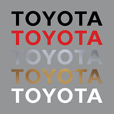 TOYOTA 33 inch Tailgate Decal TACOMA HILUX TUNDRA T-100 Truck Repair Sticker Set