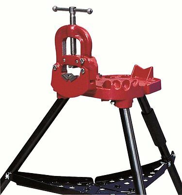 Reed Tool R40+ Portable Yoke Style Tripod for Pipe Vice, 02311, 1/8 - 2 1/2