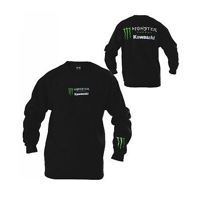 Monster Energy Kawasaki Crew Neck  Sweatshirt