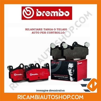 Kit Pastiglie Freno Anteriore Brembo Fiat Punto (188) 1.2 Natural Power Kw:44 20