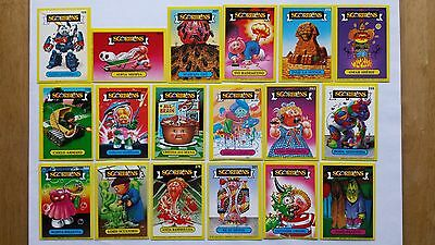 Sgorbions Rare Italian Garbage Pail Kids Stickers/Cards Mixed Lot