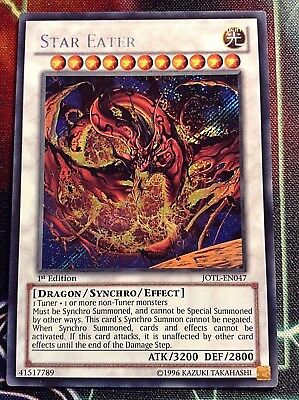 Yu-Gi-OH STAR EATER-EN047 SECRET-RARE 1.ODER 2.EDITION NM ENGLISCH