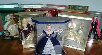 Happy Holidays Barbie Collection + Others