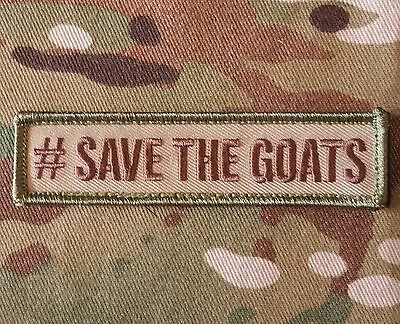 #save The Goats Usa Morale Multicam Hook Patch
