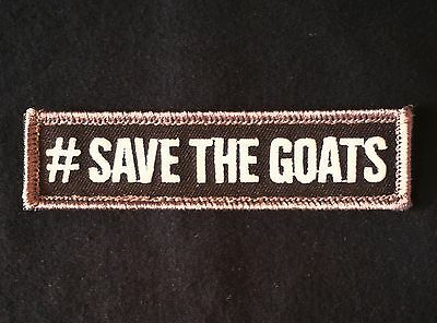 #save The Goats Usa Morale Swat Hook Patch