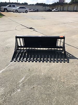 "Skid Steer Skidsteer Loader 66"" Rock Skeleton Bucket Fits John Deere"
