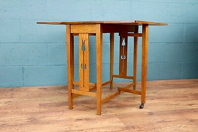 Arts and Crafts Drop Leaf Table (100428)