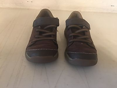 Boy's STRIDE RITE M2P BONDE Brown Leather Casual Shoes [Size: 11.5M]