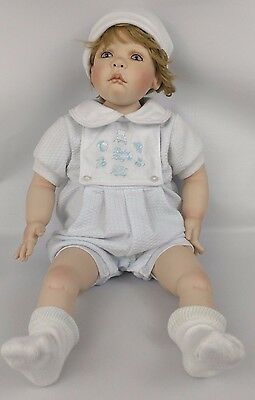 Porcelain Baby Boy Doll Marion Blair 1999 Limited Edition 0149 of 1000