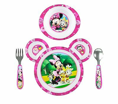 The First Years Disney Baby Minnie Mouse 4Piece Feeding Set