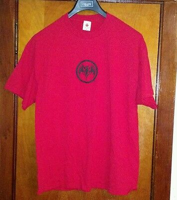 Bacardi Rum Red T Shirt XL Bat Alcohol