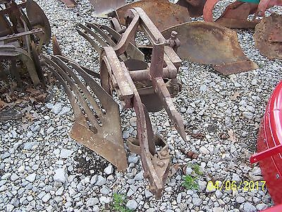 1 Point Hitch International  2 - 12 Plow With Coulters And Tailwheel
