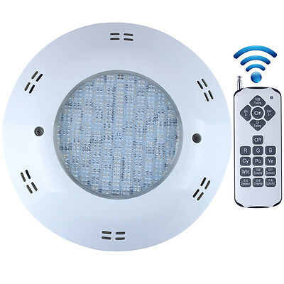 AC12V RGB Remote Wall-mounted Swimming LED IP68 Waterproof Pool Night Light Lamp