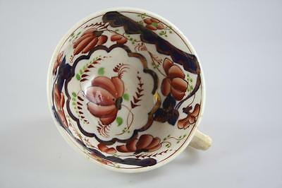 ENGLISH ANTIQUE 18th Century FLORAL IMARI PATTERN TEA CUP