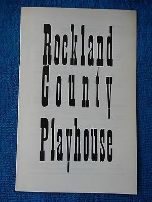 The Reluctant Debutante - Rockland County Playhouse Theatre Playbill - 1958