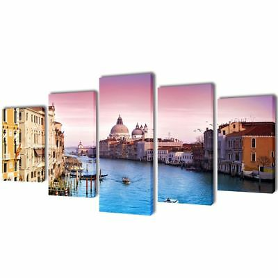 Abstract Art Landscape Photo Print Canvas Wall Decor Painting Venice Framed 39""