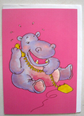 """gift card  """" hippo phone call   """" by A. Long  & """"CardsOnly"""""""