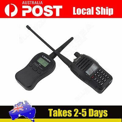 AU! LEIXEN N8 UHF/VHF LCD Display CTC/DCS Mobile Radio Frequency Counter Test