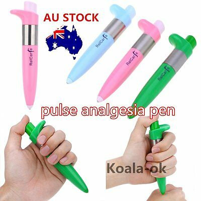 Electronic Pulse Analgesia Pen Body Pain Relief Acupuncture Point Massage Pen yh
