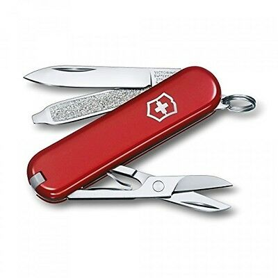 Victorinox Swiss Army Classic SD Pocket Knife, Red,58mm
