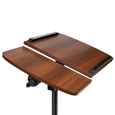 New Laptop Desk Stand Portable Holder Mount Adjustable Height Rotating Home