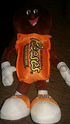 """Hershey Reese's  Milk Chocolate Peanut Butter Cups Character Plush 11"""""""