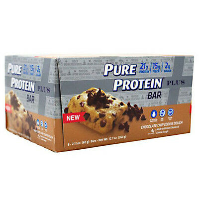 Pure Protein Bar Plus Chocolate Chip Cookie Dough 2.11