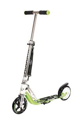 Hudora City scooter big wheel alluminio 7 180 verde 180mm monopattino